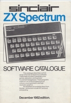 Sinclair ZX Spectrum - Software Catalogue, December 1982