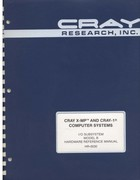 Cray X-MP & Cray-1 - I/O Subsystem Model B Hardware Reference manual HR-0030