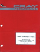 Cray IBM MVS Station Summary of Differences for UNICOS Installations