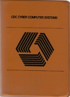 CDC Cyber Computer Systems Instant Manuals 1