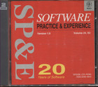 Software Practice & Experience 1.0 Vol 24 S3