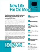 Soft Solutions - Mac Rescue - New Life for Old Macs