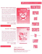 Macintosh Repair and Printer Secrets