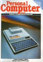 Personal Computer World - April 1980
