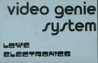Lowe Electronics Video Genie System