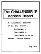The Challenger 1P Technical Report