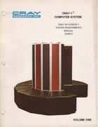 Cray-OS Version 1 System Programmer's Manual Volume 3