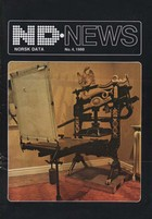 Norsk Data News No. 4 1980