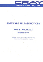 MVS Station 2.02 Software Release Notes