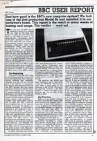 BBC Micro User Report