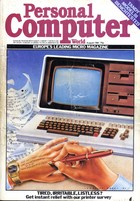 Personal Computer World - August 1981