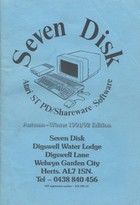Seven Disk - Atari ST Public Domain Software Catalogue - Autumn/Winter 1991