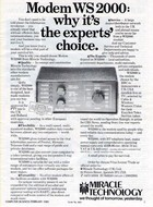 Miracle Technology Modem WS2000 Advert