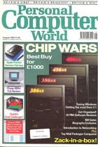 Personal Computer World - August 1992