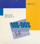 Microsoft MS-DOS 5 for Hewlett Packard PC
