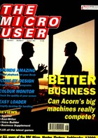 The Micro User - August 1991 - Vol 9 No 6