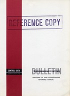 Bulletin Programming Systems