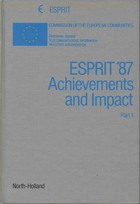 ESPRIT '87 achievements and impact Part 1