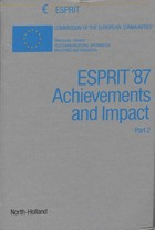 ESPRIT '87 achievements and impact Part 2