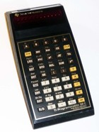 TI-58C Programmable Calculator