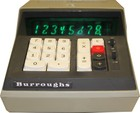 Burroughs C3260 Electronic Calculator