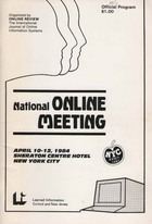 Online Review National Online Meeting 1984