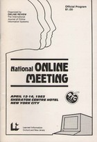 Online Review National Online Meeting 1983