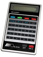 Sharp EL-8140 calculator