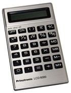 Prinztronic LCD 6000 Electronic Calculator