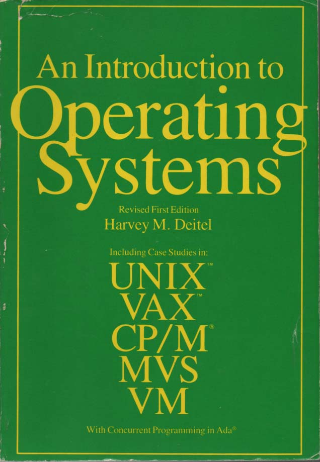 Operating System Book By Deitel