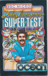 Daley Thompson's Super Test (Cassette Sealed)