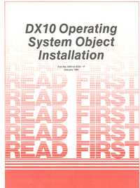 DX 10 Operating System Object Istallataion