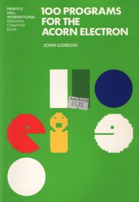 100 Programs for the Acorn Electron