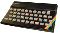 Early Sinclair ZX Spectrum Computer