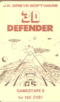 3D Defender - Games Tape 5 (early version)