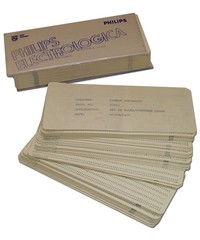 Philips P354 Software on Punch Cards