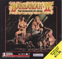 Barbarian II - The Dungeon of Drax (Disk)