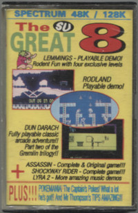 Sinclair User - The Great 8 Issue 119