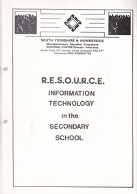 Information Technology in the Secondary School