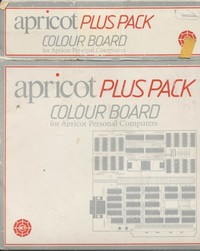 Apricot Plus Pack Colour Board