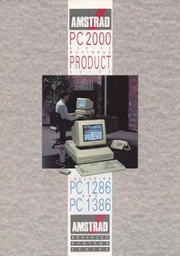 Amstrad PC 2000 Series Business Product Guide