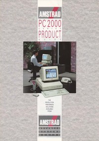 Amstrad PC 2000 Series Product Guide