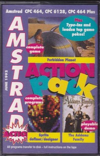 Amstrad Action Pack (Tape 15)