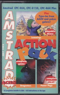Amstrad Action Pack (Tape 16)