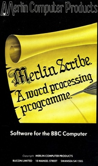 Merlin Scribe a Word Processing Programme