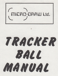Tracker Ball Manual
