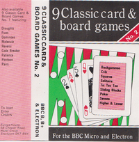 9 Classic Card And Board Games No.2