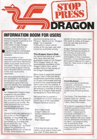 Dragon Stop Press - Issue 2
