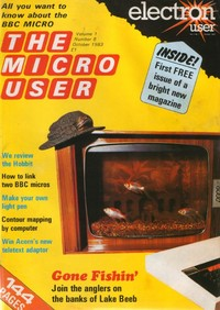 The Micro User - October 1983 - Vol 1 No 8