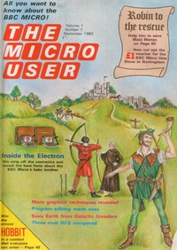 The Micro User - September 1983 - Vol 1 No 7